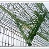 监狱护栏网防护网勾花网隔离栅围墙网刀片刺绳