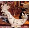 奢华家居装饰陶瓷  异型象牙瓷 欧式复古宫廷 酒架