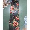蝶翠纺织 重工玻璃纱刺绣 多套色中国风 牡丹刺绣面料