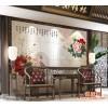 电视瓷砖背景墙 电视背景墙瓷砖 艺术现代客厅 背景墙 富贵花
