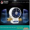 Meatal gas timer valve