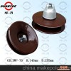 70KN防污悬式电瓷绝缘子XWP2-70(库存有货