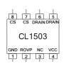 CL1503非隔离LED电源驱动IC原装正品低成本省材料