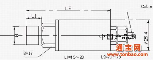 et100系列扩散硅压力传感器