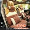 冬季加厚保暖汽车坐垫狐狸毛座垫内饰品毛垫新款羽绒车垫