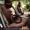 汽车坐垫冬季新款 卡通 可爱 毛绒 汽车座垫 四季车垫毛垫 保暖垫