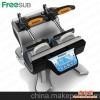 迷你双工位烤杯机 新款多功能热转印烫画机 便携式卧式烤杯机器