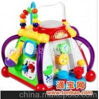 汇乐/正品 玩具 806快乐小天地 多功能15种游戏 益智游戏玩具
