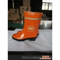 环卫工胶鞋 道班鞋厂家  黄色警示鞋 防水防漏 耐穿耐磨
