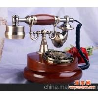 复古电话机 实木电话机 仿古电话 欧式电话