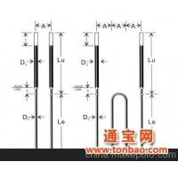 嵩山硅碳棒硅钼棒异型二矽化钼加热棒二硅化钼管热电偶保护管