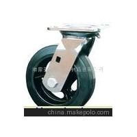 重型铸铁橡胶轮,脚轮,万向轮,聚胺脂