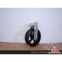 供应优质6英寸重型橡胶脚轮