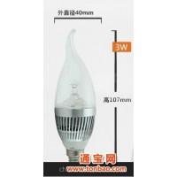 LED 蜡烛灯 3W