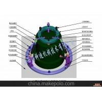各种型号地震仪固定架的设计、制造、装配、包括安装