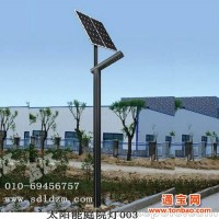 盛达路灯供应单臂现代太阳能庭院灯