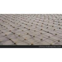 安平县同泽主动防护网厂家,热镀锌钢丝绳网,山体防护网