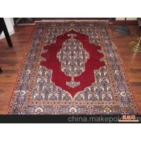土耳其风格手工打结真丝地毯