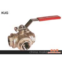 T型三通旋塞阀  KUG-VNTR-25