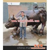 铜牛雕塑铸造_博创动物雕塑制作厂家订做铜牛雕塑