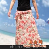 厂家直供 波西米亚长裙 裹胸裙 吊带裙 多种穿法