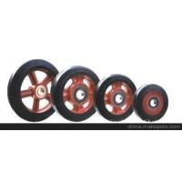 5寸橡胶轮(脚轮)-东诚牌