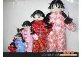 手织中国娃娃