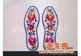 定做出售庆阳手工刺绣鞋垫(陇绣)