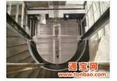 供應半圓型別墅家用電梯