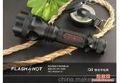 供应户外防水强光手电筒大功率强光手电筒战术手电筒