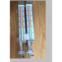 LED磁敏液位计带红绿显示光柱智能翻板液位计电子双色液位计