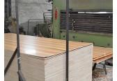 桐木生态板厂家原生态实木板材浮雕拉丝桐木桌面板