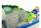 抽水蓄能电站整体布局仿真模型