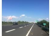 宁扬高速公路汤汪收费站单立柱广告牌