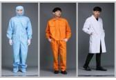 工厂直销防静电服 0.5网格四连体食品无尘洁净室工作服