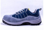 代尔塔同款透气防臭劳保鞋反绒牛皮耐磨实心底安全鞋813