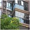 厦门地区品质好的枫景无框窗100%全敞开无框玻璃阳台优质的枫景无框窗100%全敞开无框玻璃阳台