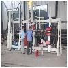 青岛铝木门窗生产组框机铝包木门窗合框机生产厂家