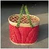 椭圆形竹篮