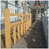 西安仿木护?#21103;▅宝鸡仿栏杆安装
