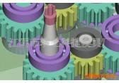 南京模注塑具厂 自动脱螺纹塑料模具塑料螺纹模具