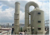 厂家供应 废气处理环保除臭设备 定制喷淋塔 PP酸雾洗涤塔