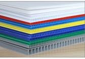 芜湖pp中空板箱 塑料中空板折叠箱 白色透明中空板垫板