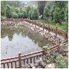 金台仿木栏杆哪家好——西安划算的宝鸡仿木围栏哪里有供应
