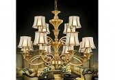 纯铜灯厂家批发美式全铜灯客厅欧式别墅吊灯纯铜创意灯