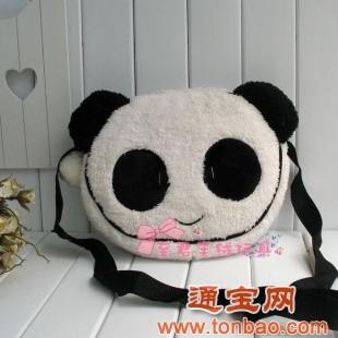 韩国小熊挎包空调毯